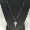photo of Moonstone and Diamond Pendant with Decorative Chain item 44